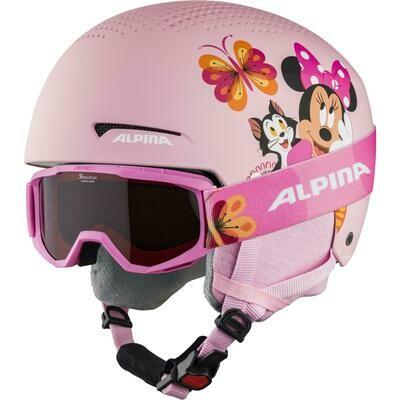 2021 Шлем детский ALPINA Zupo Disney Minnie Mouse р. 51-55