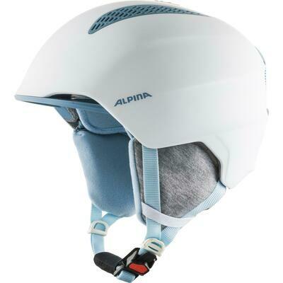 2021 Шлем юниорский ALPINA Grand Jr бел./син.