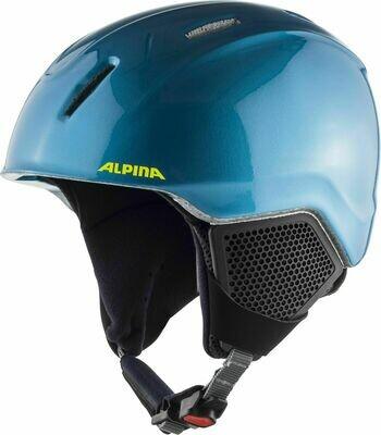 2020 Шлем ALPINA Carat LX син./желт. р. 54-58