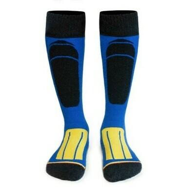 Носки WSS black/blue/yellow