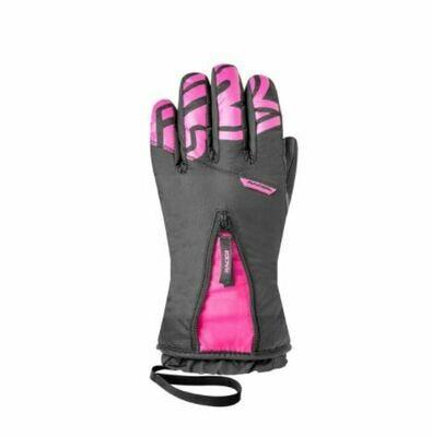 Перчатки RACER GWINTER2 черн./роз.