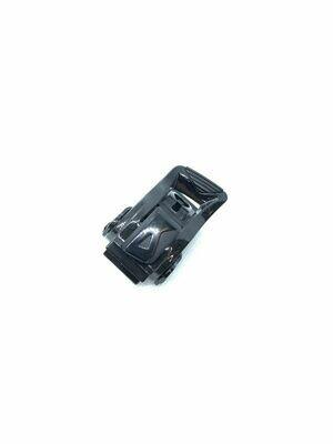 Бакля (замок) пластик. черный