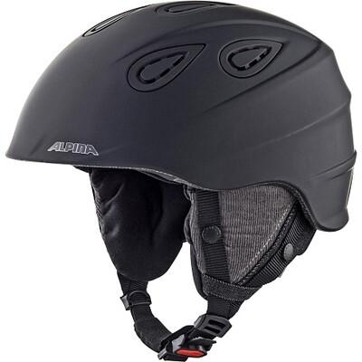 2021 Шлем Alpina Grap 2.0 LE Black Matt р. 61-64