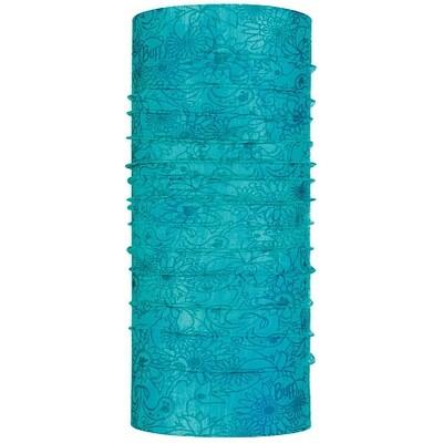 2021 Бандана Buff CoolNet UV+ with InsectShield Neckwear Surya Turquoise