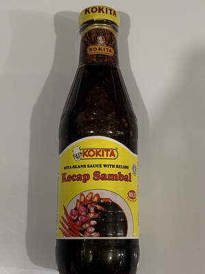 Kokita Kecap Sambal  / Hot Soya Sauce 400ml
