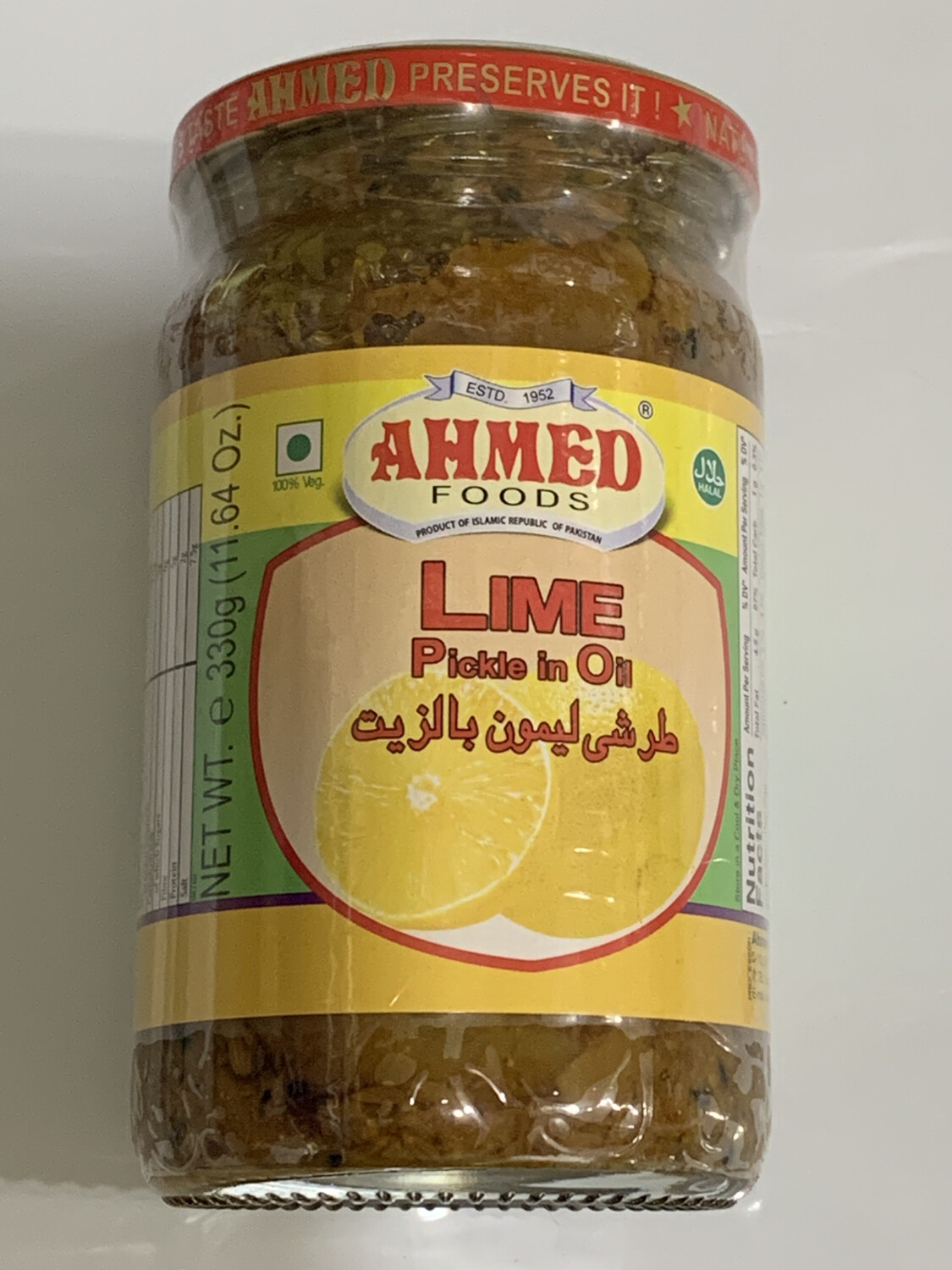Ahmed Lime Pickle 330g