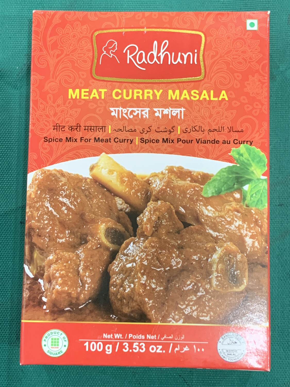 Radhuni Meat Curry Masala 100g