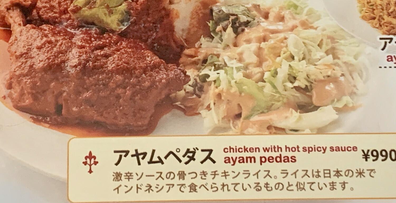 Ayam Pedas / Chicken With Very Hot Sauce