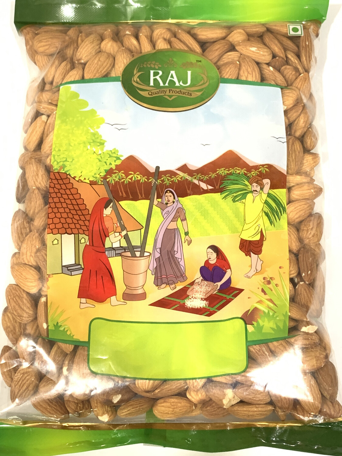 Almond  Whole Big Pack 500g