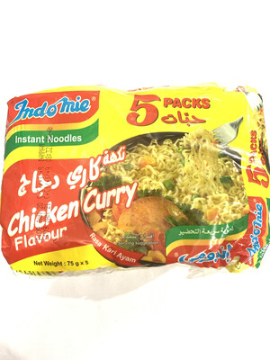 Indomie Chicken Curry Flavour 5pcs Pack