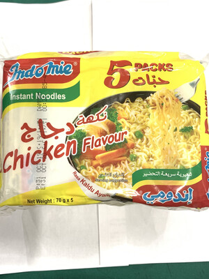 Indomie Chicken Flavour 5pcs Pack