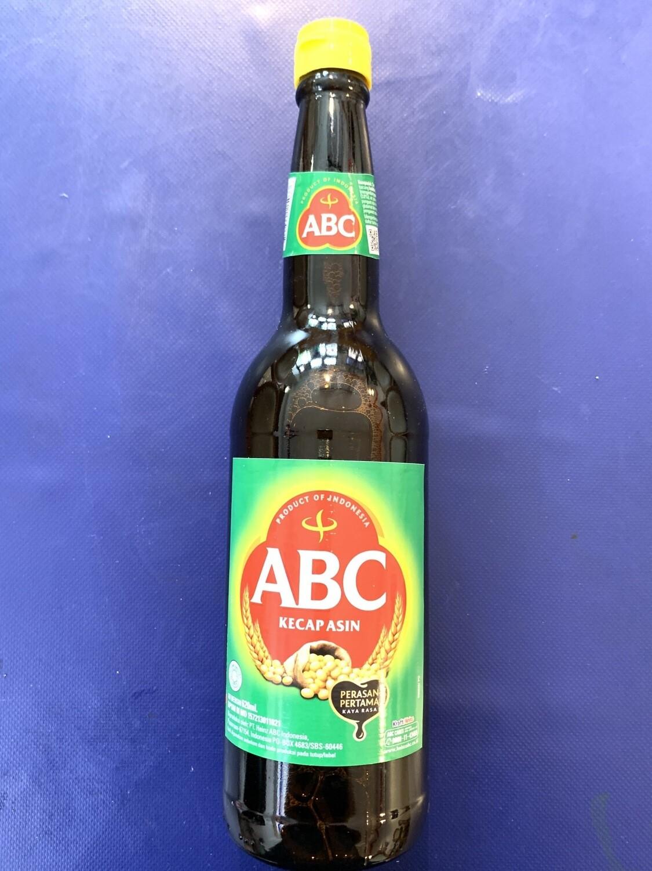 ABC Kecap Asin / Salty Soya Sauce 620ml