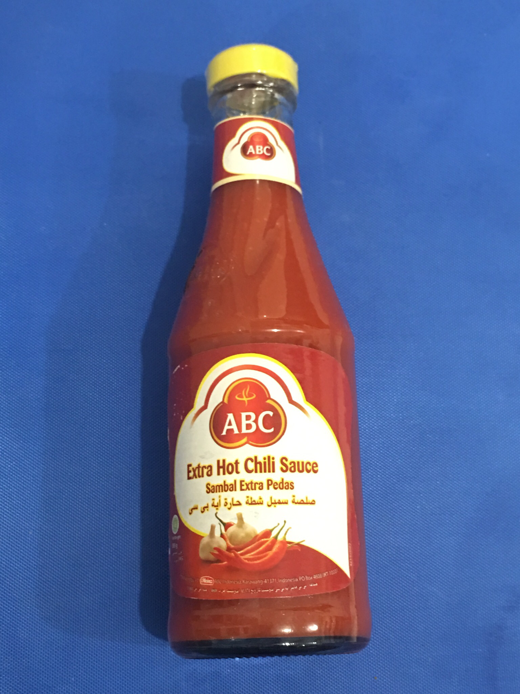 ABC Sambal extra Pedas/extra hot chili sauce335ml