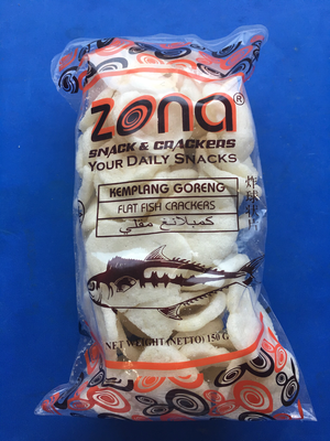 Zone Flat Fish Cracker /Kemplang Goreng 150g