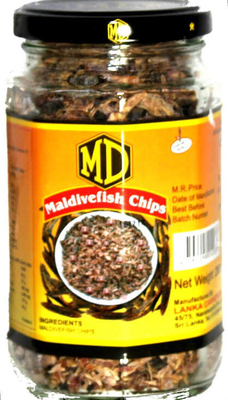MD Maldive Fish Chips 200g
