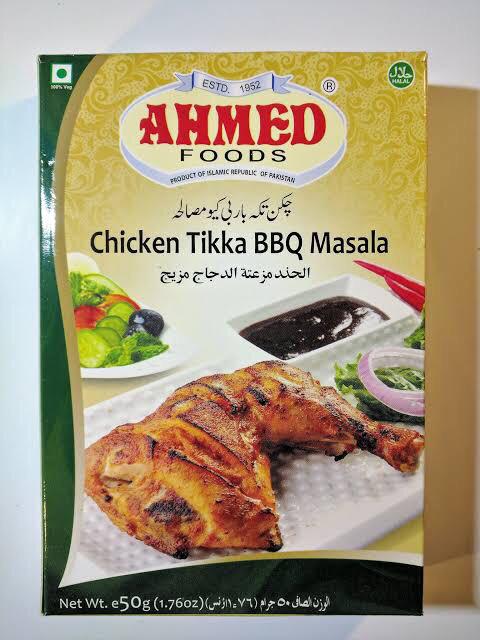 Ahmed Chicken Tikka BBQ masala 50g