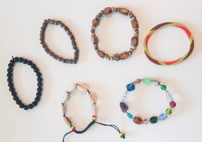 Bracelets Perles & Bois