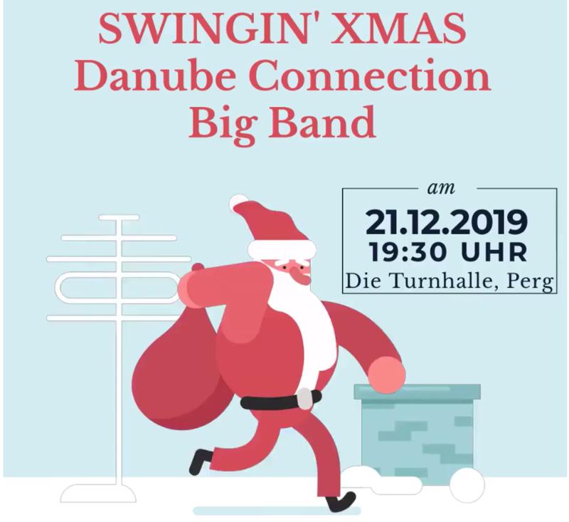 Vorverkaufskarte Jugend, Schüler & Studenten Swingin' Xmas mit der Danube Connection Big Band