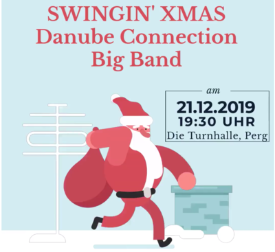 Vorverkaufskarte  Swingin' Xmas mit der Danube Connection Big Band