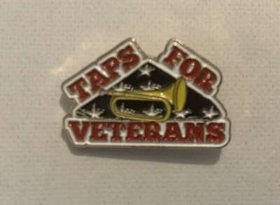 Pin - Taps For Veterans
