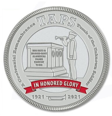 Challenge Coin - Taps In Honored Glory