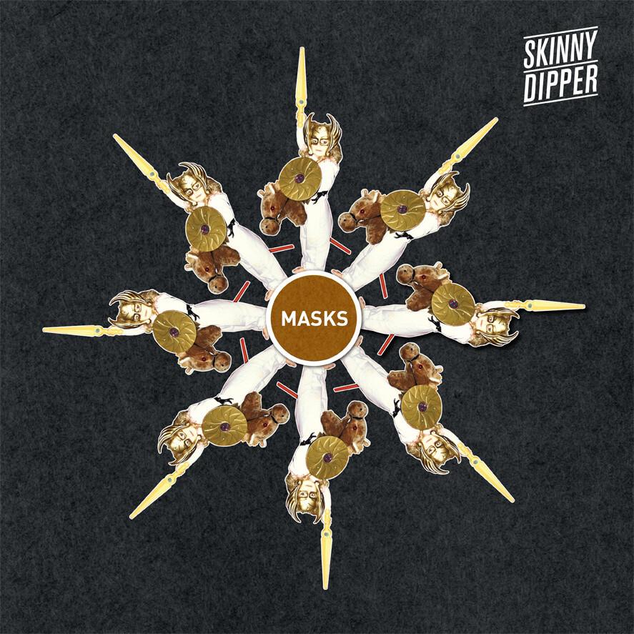 """Skinny Dipper - Masks EP (12"""" vinyl)"""