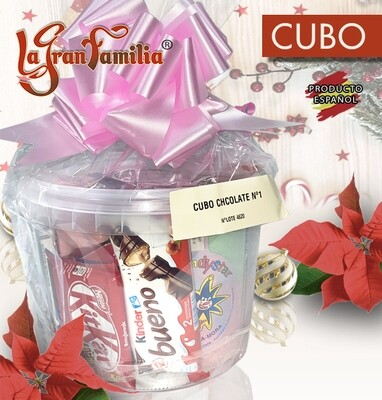 CUBO DE CHOCOLATES