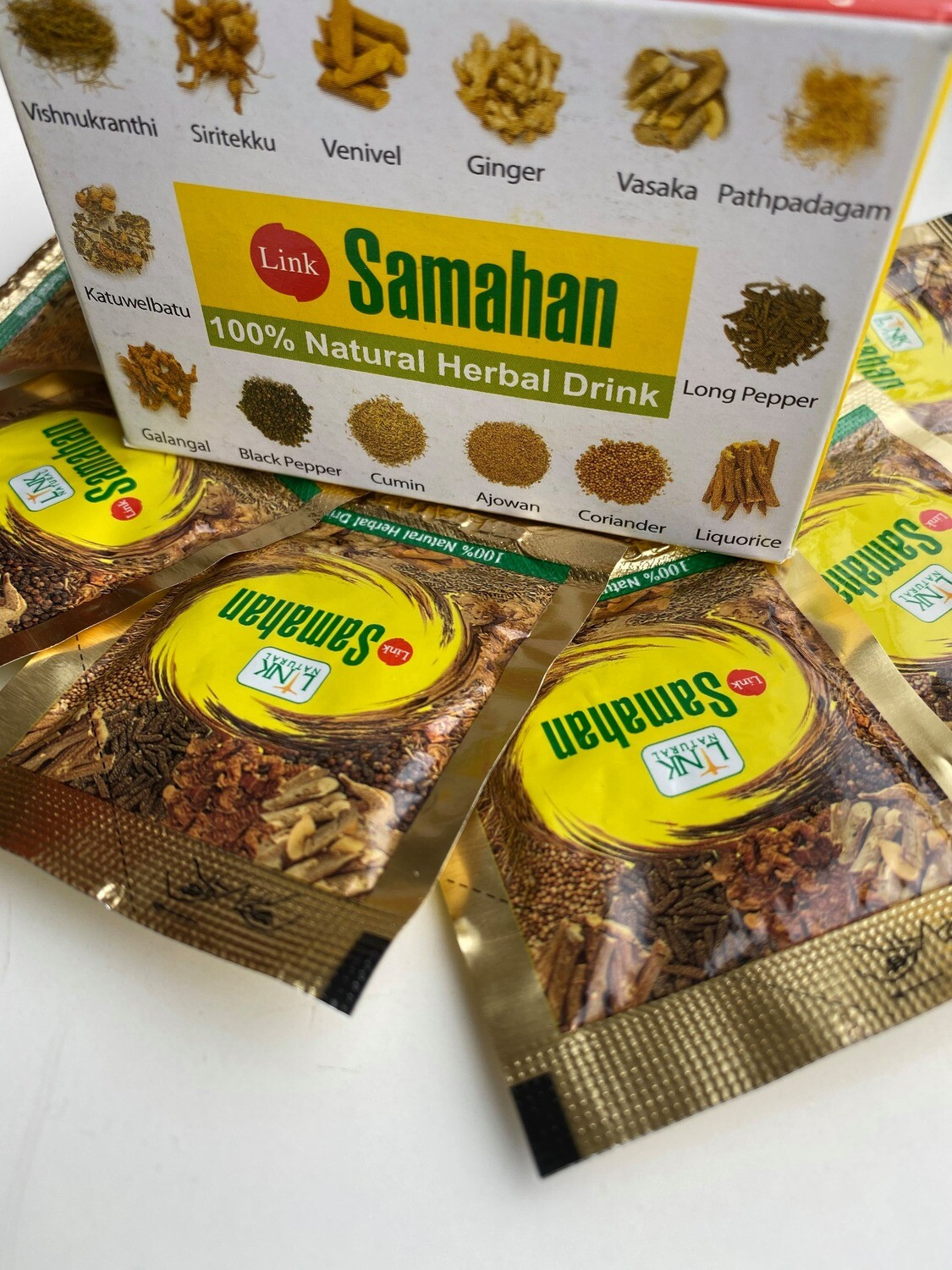 Link Natural Samahan kruiden thee