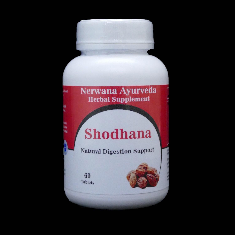 Shodhana tabletten natuurlijke ondersteuning v/d spijsvertering
