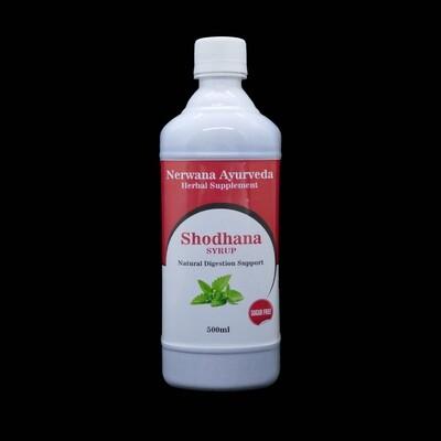 Shodhana siroop natuurlijke ondersteuning v/d spijsvertering