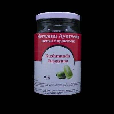Kushmanda rasayana vermindering van pitta en vata