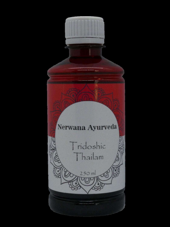 Tridosha-olie thailam 250ml
