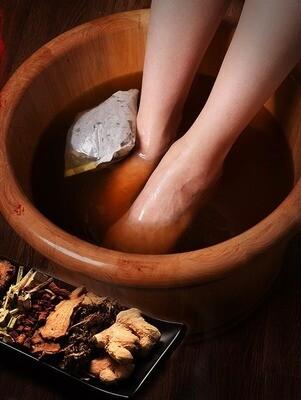 Nerwana Ayurveda voet ontgiftingskuur       5 zakjes