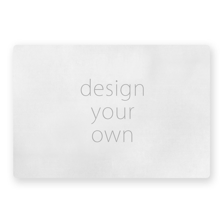 客製 滿版 印花 矩形 止滑 極短絨 大地墊 Square mat