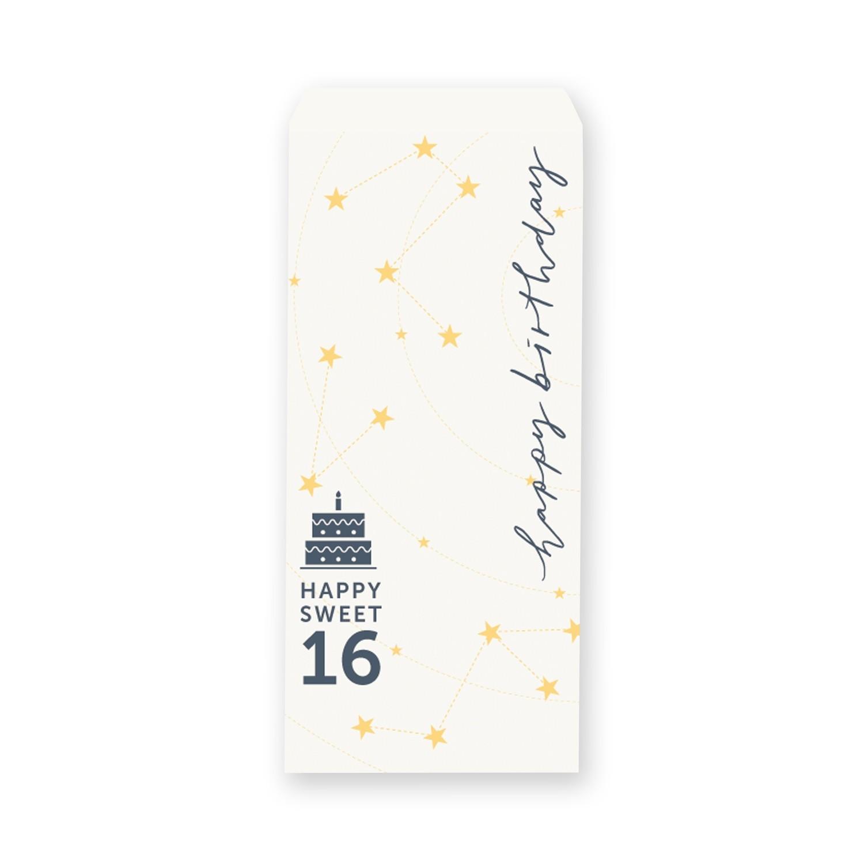 [設計圖樣] 星座 插畫 生日 信封 Constellation birthday envelope
