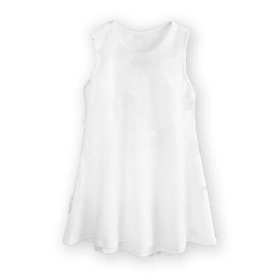 客製 印花 無袖 洋裝