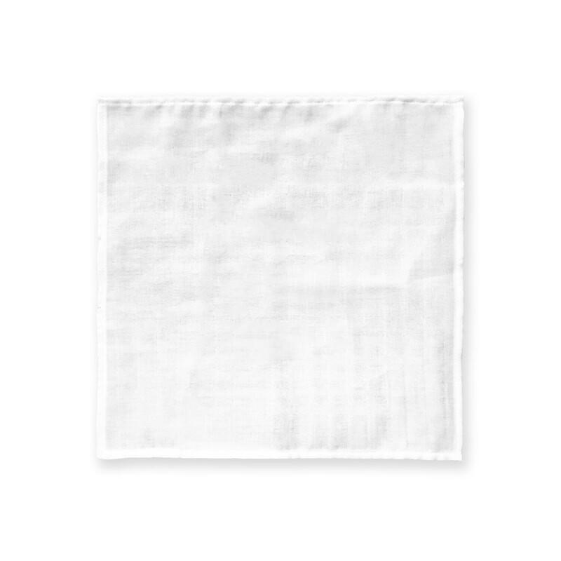 客製 滿版 印花 純棉 手帕 38*38 Cotton Handkerchief