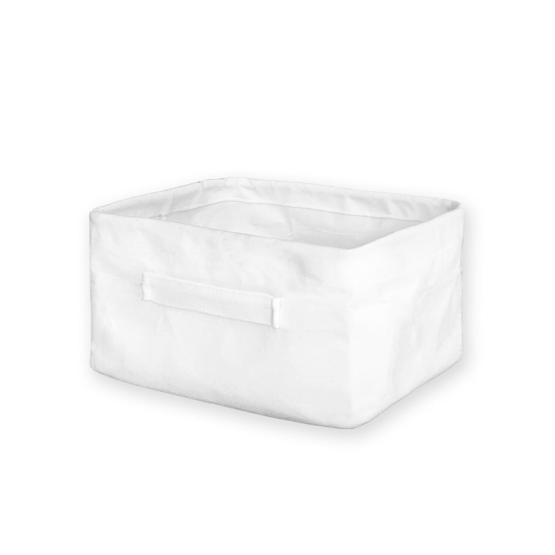 客製 滿版 印花 矩形 收納 置物籃 (矮版) Storage basket