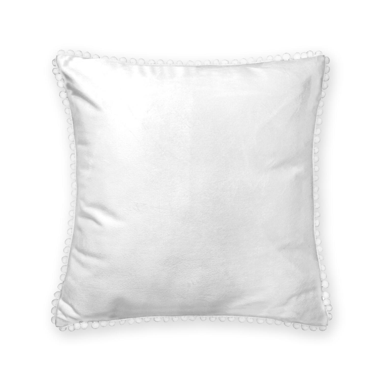 客製 滿版 印花 流蘇 方形 可拆式 抱枕 35*35(cm) Fringe square pillow