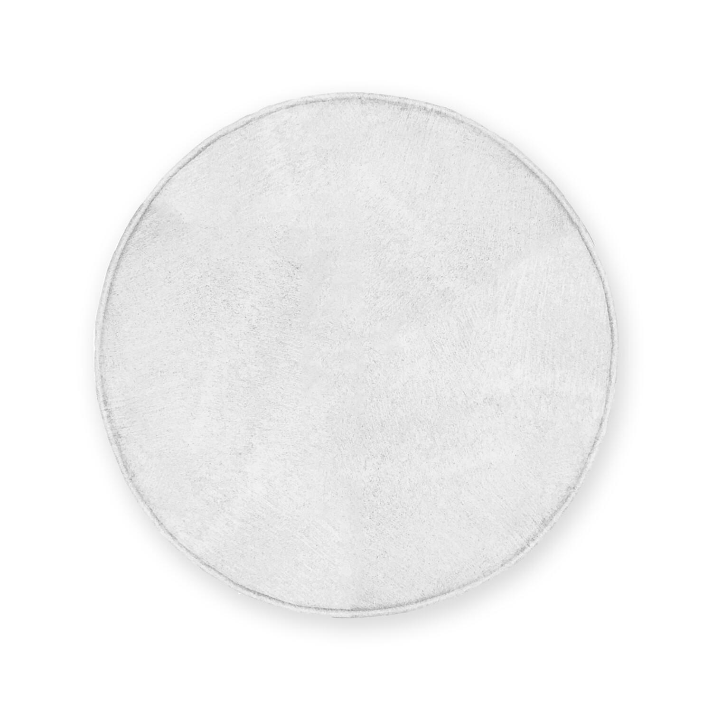 客製 滿版 印花 圓形 泡綿 止滑 毛絨 腳踏墊 地毯 Round foam carpet