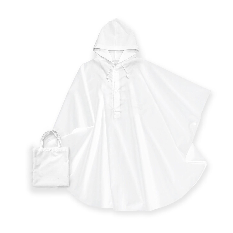 客製 滿版 印花 提袋 收納 步行 斗篷 雨衣 Raincape