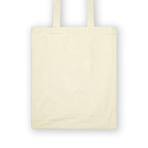 客製 局部 印花 棉帆布 提袋 Cotton light canvas bag