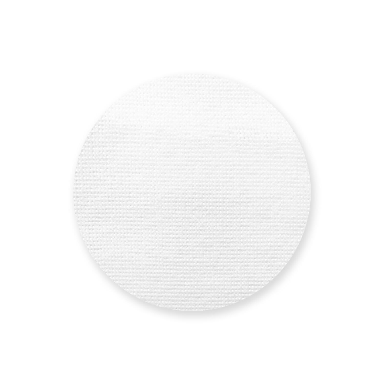 客製 滿版 印花 圓形 自黏 布貼 貼紙 Round Fabric Stickers