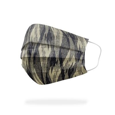現貨 滿版 印花 破碎 菱形 刷紋 醫療 口罩 (30入) Diamond brush mask