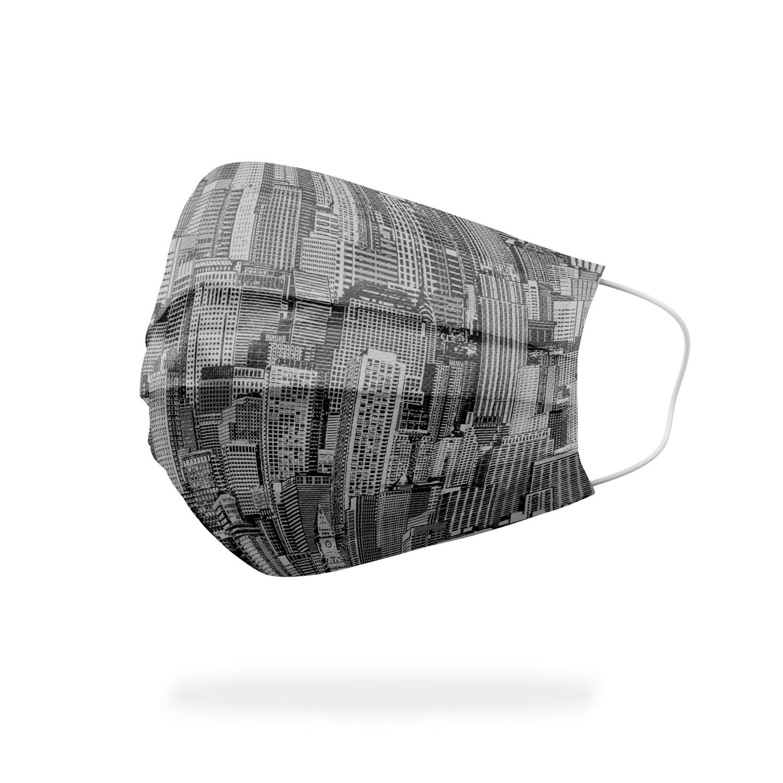 現貨 滿版 印花 曼哈頓 城市 醫療 口罩 (30入) Manhattan city mask