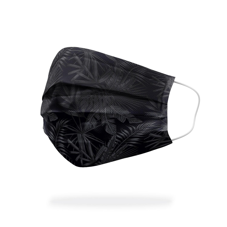 現貨 滿版 印花 黑暗 熱帶 雨林 醫療 口罩 (30入) Dark rainforest mask
