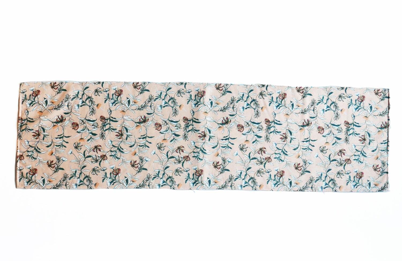 現貨 滿版 印花 時尚 花卉 吸水毛巾 Fashion flower towel
