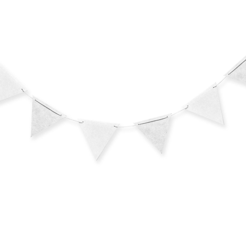 客製 滿版印花  穿孔式 環保材質 派對三角旗 (12入/組) Perforated  party pennant