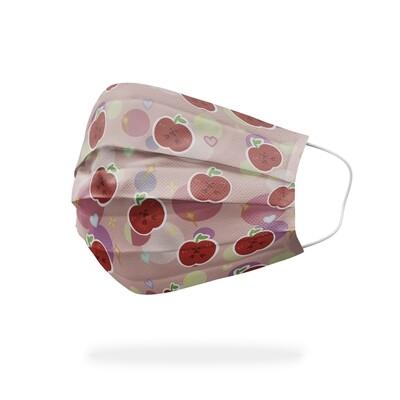 現貨 渣熊 蘋果 粉嫩 醫療 口罩 (10入) Playbear apple pink  mask