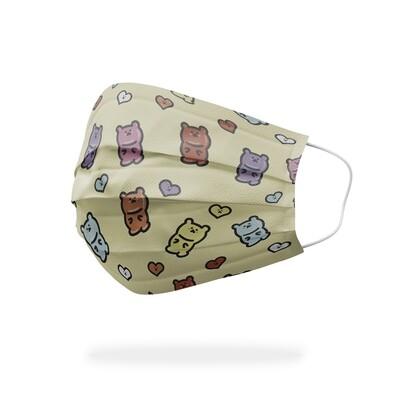 現貨 小熊 軟糖 醫療 口罩 (10入) Gummy Bear mask
